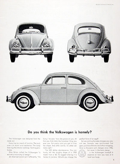 Volkswagen are known for creating groundbreaking advertisements in the 50s & 60s