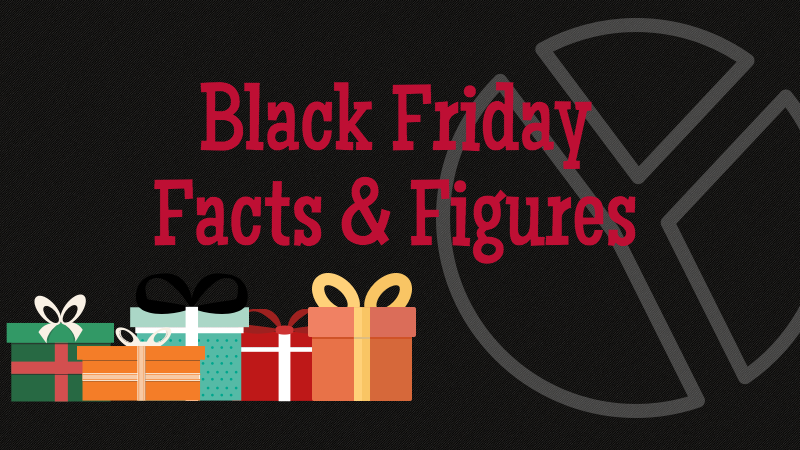 Black Friday Infographic Title: Black Friday Facts and Figures.