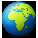 emoji planet earth