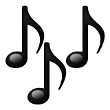 emoji musical notes