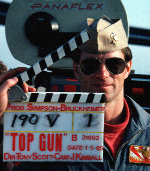 Ray Ban product placement in Top Gun