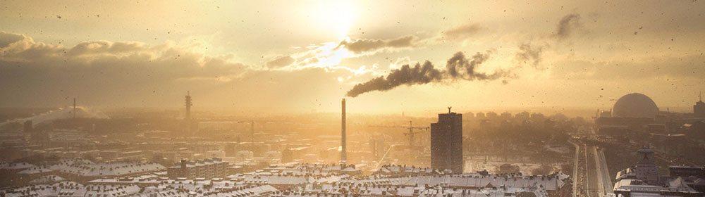 An image of an industrial landscape