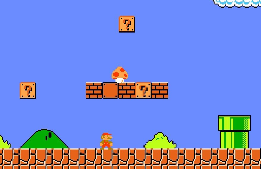 Early AI can just about play Mario Brothers - how can this be used in business?
