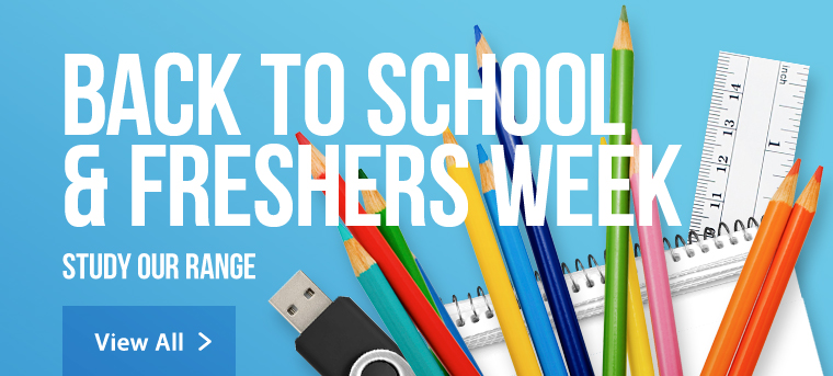 Back to school and freshers promotional merchandise