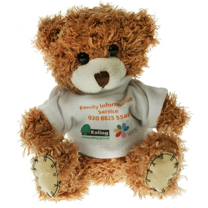Promotional 12cm Paw Teddy Bears merchandise ideas