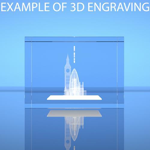 3d Engraved Led Crystal Keyrings Personalised Keychains