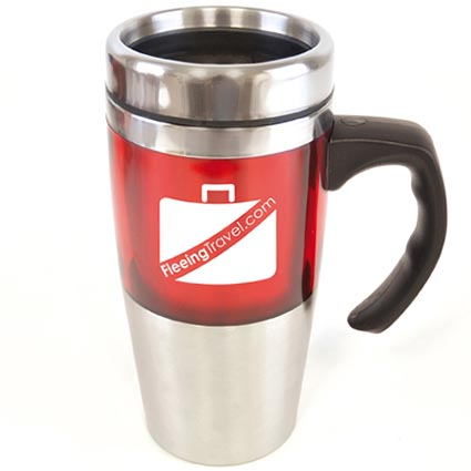 Thermal mug personalised