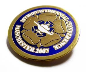 Promotional Soft Enamel Badges Bespoke Shaped for Corporate Branding