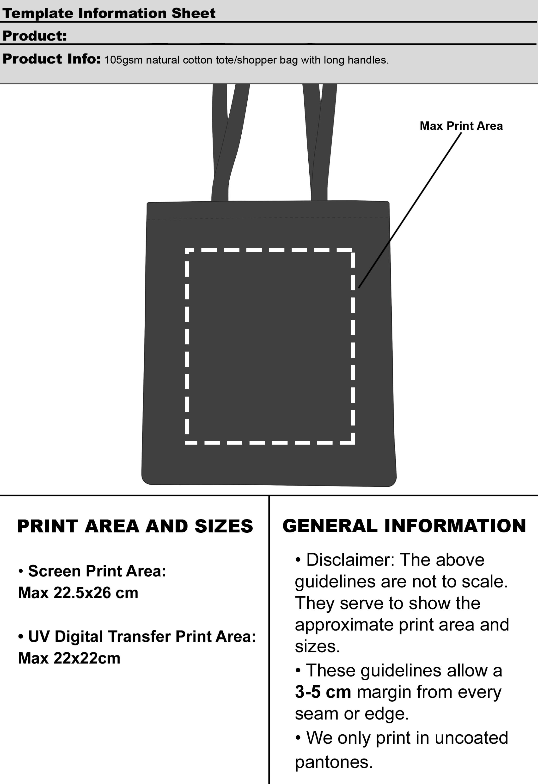 509f2cde89e Snowdown Cotton Tote Bags · Download Artwork Template