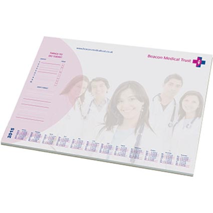 a2 recycled desk pads branded office merchandise