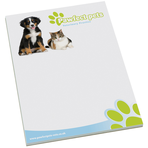 Promotional A4 Note Pads for office desks