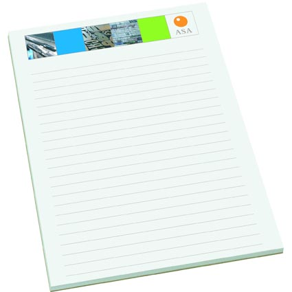 ... Response to Client Gift Idea for Christmas – Personalized Memo Pads