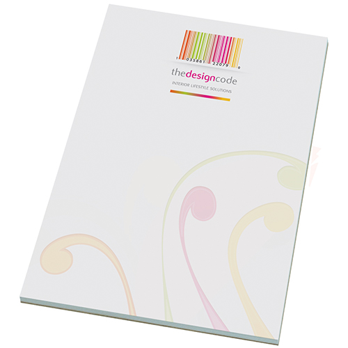 Custom Printed A5 Note Pad for universities