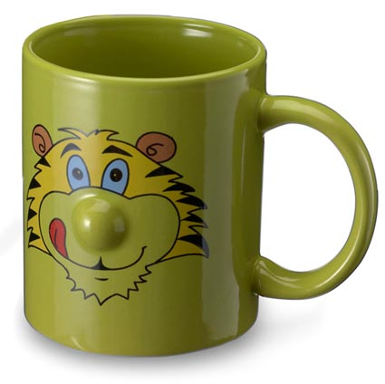 Animal mugs personalised mugs and cups fast lead times for Animal face mugs