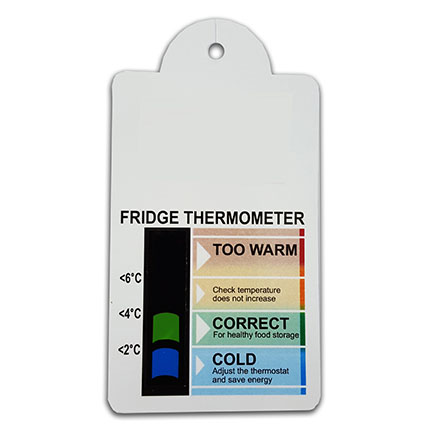 Bell Top Fridge Thermometer