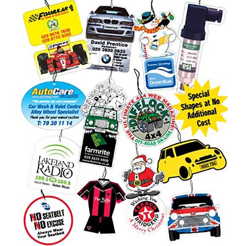 Auto Good Image: Personalised Air Fresheners