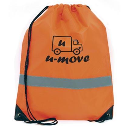 Celsius Reflective Drawstring Bag