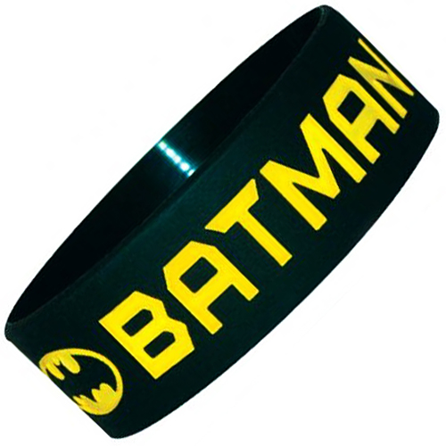 Childs Extra Wide Silicone Wristbands