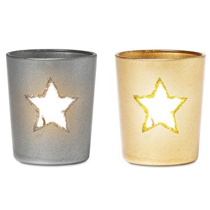Christmas Tea Light Holders Personalised Tea Light