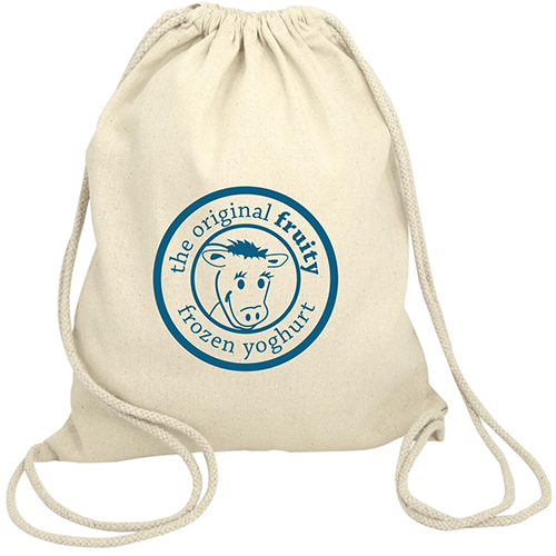 Cotton Drawstring Back Pack