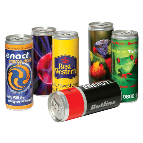 Energy Drinks Can   Printed Merchandise   Express Lead Times