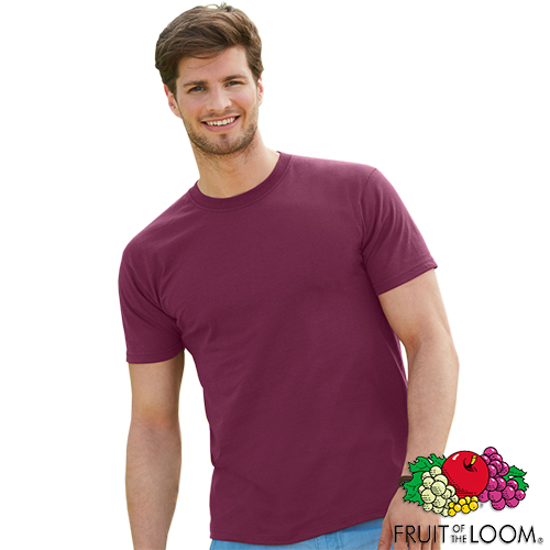 Fruit of the loom super premium t shirts printed t for Fruit of the loom t shirt printing