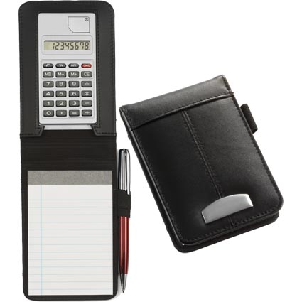Mini Notebook With Calculator Printed Merchandise All
