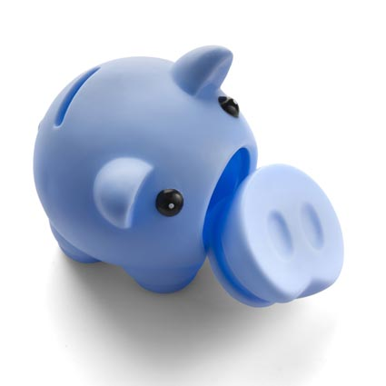 Plastic piggy bank printed piggy banks promotional merchandise - Resin piggy banks ...