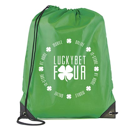 Polyester Drawstring Bags | Personalised Drawstring Rucksacks ...