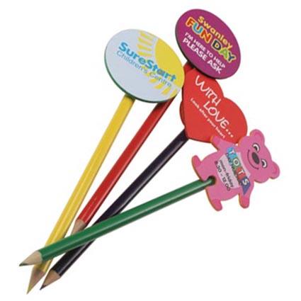Foam Pencil Toppers