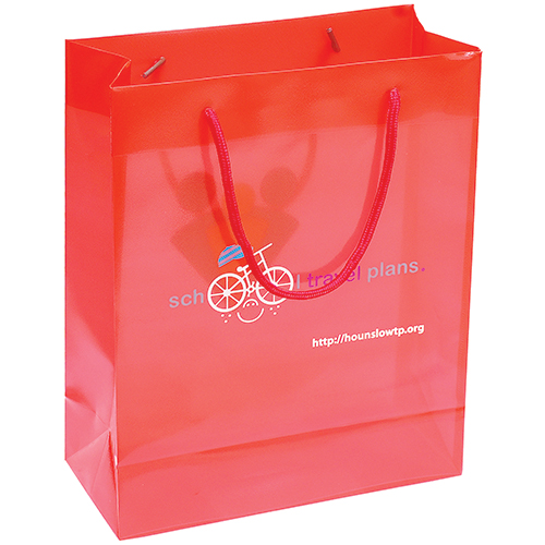 Polypropylene Gift Bags | Personalised Bags | Fast Lead Times