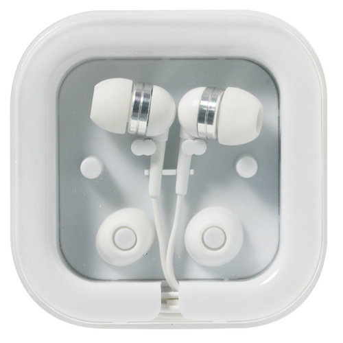 Promotional Earphones | Technology Gifts | Promotional Gadgets | Printed Phone Accessories
