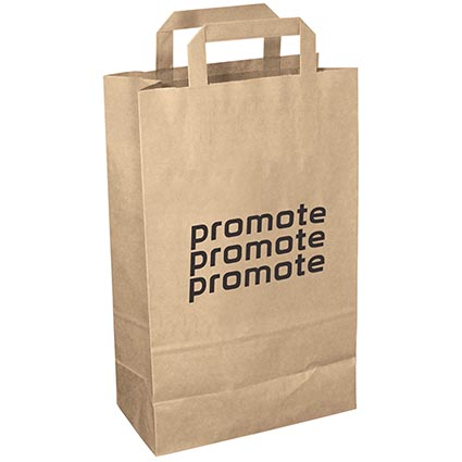 Recycled Medium Paper Carrier Bags