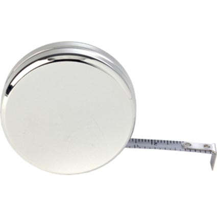 Silver Plated Round Tape Measures