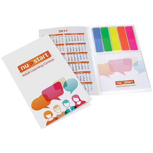 Printed Sticky Note Organiser Set for offices