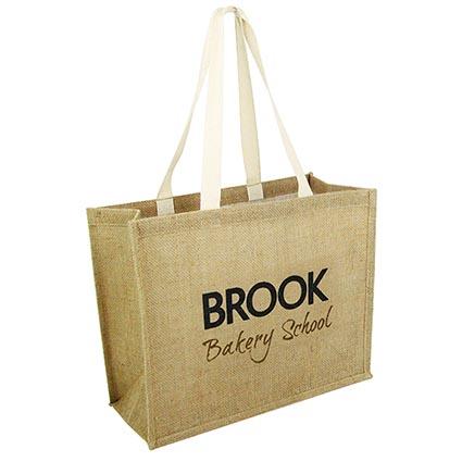 Taunton Jute Shopper Bags | Personalised Tote Bags | Printed ...