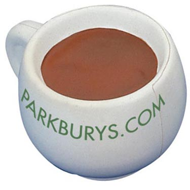 No more need to argue over who's turn it is to make the tea! Keep stress at bay with our coffee/tea cup stress toy. Perfect for offices and catering services alike.
