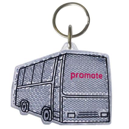 Bus Reflector Keyrings