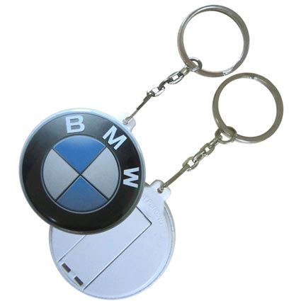 Usb Button Flashdrive Keyrings Printed Memory Sticks