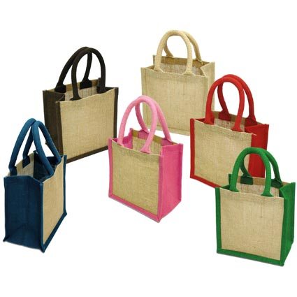 Wells Jute Tiny Gift Bags Extra Images