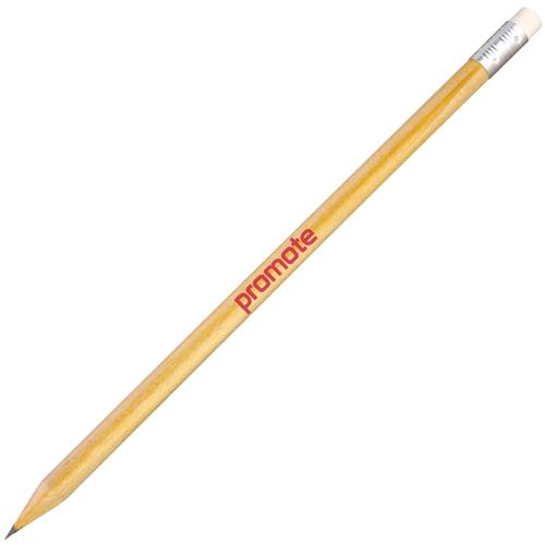 Wooden Eco Pencils with Eraser