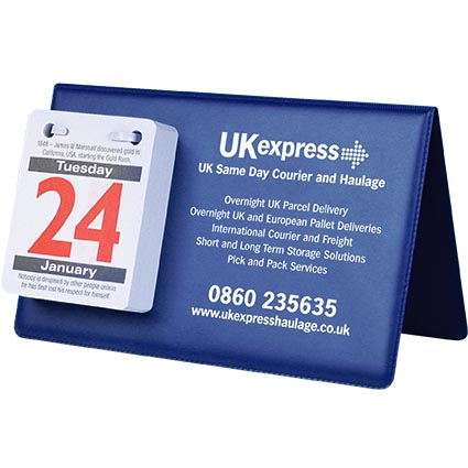 Promotional PVC Easel Calendars for workplaces