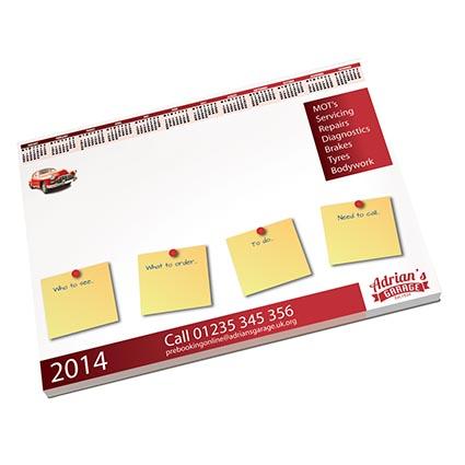 A2 Desk-Mate Deskpad | Printed Desk Pads | Promotional Note Pads
