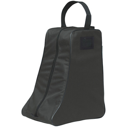 Promotional Zipped Barham Wellington Boot Bag made from durable 600d polyester. Comes with mesh ventilation, name card holder & a carry handle. This Welly Bag has a generous print area for your branding.