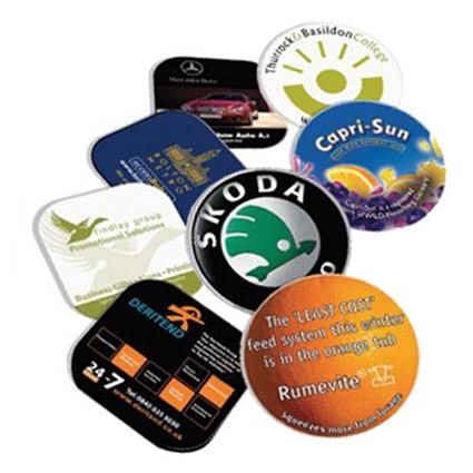 Brite Mat Tyre Coasters Printed Coasters Promotional