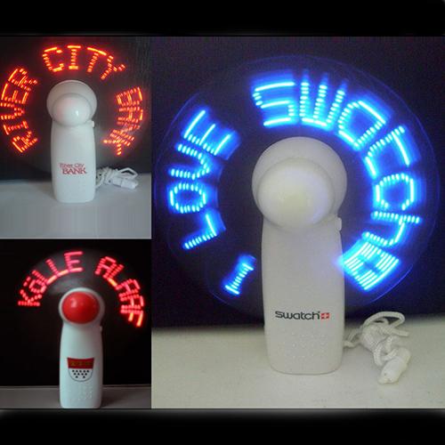 Flashing LED Fans