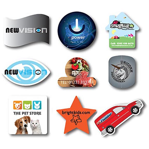 Shaped flexible fridge magnets personalised badges and magnets shaped flexible fridge magnets reheart Gallery