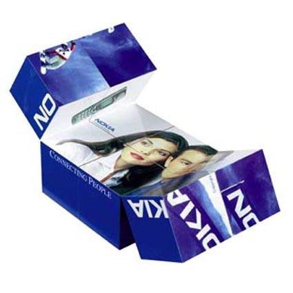 Magic Cube Printed Puzzle Cubes Promotional Rubiks Cubes