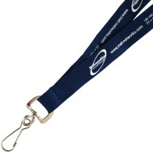 Promotional 15mm Flat Polyester Lanyards Printed with your Logo