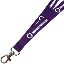 Promotional 15mm Polyester Lanyards for events